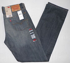 LEVI'S 514 MEN'S STRAIGHT JEANS W32 L34 #005140191 HIGHWAY 32X34