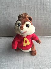 "Ty Beanie Babies Alvin and the Chipmunks Plush Doll 6"" Alvin 2008"