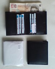 NEW Super leather mini credit card wallet with note section WorldWide Delivery