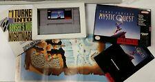 Final Fantasy: Mystic Quest (Super Nintendo) SNES Complete!