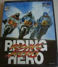 NEW RIDING HERO MOTORCYCLE  GAME FOR NEO GEO AES HOME CONSOLE USA VERSION