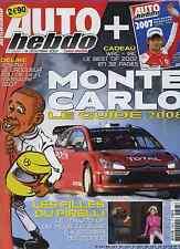 AUTO HEBDO n°1628 du 19 Décembre 2007 GUIDE MONTE CARFLO RACE OF CHAMPIONS