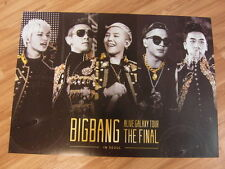 BIGBANG - 2013 ALIVE GALAXY TOUR LIVE [ORIGINAL POSTER] K-POP *NEW*