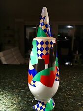 BEAUTIFUL ALESSI TENDENTSE ALESSANDRO MENDINI PORCELAIN VASE AND COVER