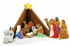 Fox Run 21 Pc Christmas Holiday Nativity Cookie Biscuit Cutter Bake Set New