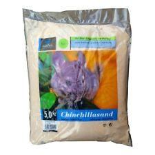Chinchillasand - Kleintier Badesand Sand 5kg  - Spezialsand staubfrei Fellpflege