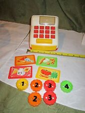 FISHER PRICE COUNT & Learn PLAY FARMERS MARKET Cash Register Money Coins Part
