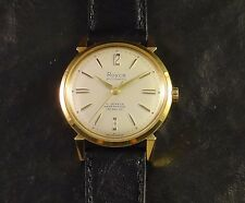 NOS SWISS AUTOMATIC 21 JEWELS WATERPROOF WRISTWATCH GOLD F. ULYSSE NARDIN CALIB.