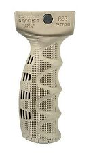REG -S Fab-DefensE RUBBERIZED ERGONOMICALLY DESIGNED TACTICAL FOREGRIP Tan Col