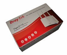 Draytek Vigor 2110n 2110 N ROUTER WIRELESS DSL MODEM come nuovo!!! * 70