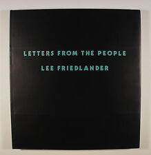 Lee Friedlander Letters from the People New & Signed Photography Book