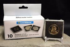 20 Sacajawea Small Dollar Coin Snap Capsule 26mm LIGHTHOUSE QUADRUM 2x2 Case #1