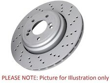 Eicher 1270290 Replacement Rear Single Brake Disc Renault Laguna Sport Tourer