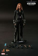 HOT TOYS 1/6 CAPTAIN AMERICA MMS239 BLACK WIDOW NATALIA ROMANOVA ACTION FIGURE