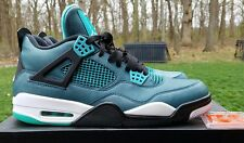 Nike Air Jordan IV 4 Retro 30th Teal/White-Black-Retro Teal 705331-330 SIZE 11