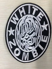 White Zombie ROB Outbreak Heavy Metal Music Band Embroidered Iron On Patches