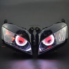 Assembly Headlight Demon Angel Eye Projector HID Kits For Honda CBR600 2007-2012