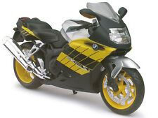 BMW K1200S YELLOW BIKE 1/12 MOTORCYCLE MODEL BY AUTOMAXX 600302Y