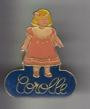 RARE PINS PIN'S .. ART JOUET TOY POUPEE DOLL COROLLE ANCIENNE OLD FRANCE ~DA