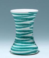 """Gmundner Keramik Vase Dekor """"Grüngeflammt""""         #17123"""
