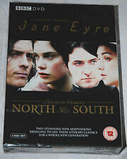 JANE EYRE and NORTH & SOUTH 4-Disc Box Set BBC DVD NEW & Sealed in Slipcase
