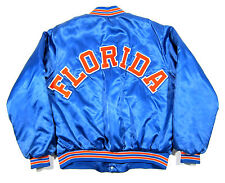 VTG 80S FLORIDA GATORS CHALK LINE SATIN VARSITY JACKET OG NCAA SNAPBACK 90S USA
