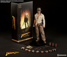 SIDESHOW INDIANA JONES TEMPLE OF DOOM 1:6 FIGURE ~Sealed in Brown Box~
