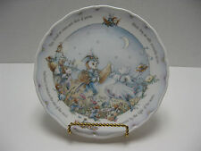 Royal Doulton 1987 Owl & Pussycat Nursery Plate #4 in Series of 4 Dancing