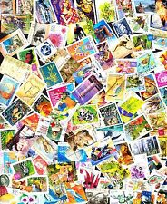 100 All Different  Australian stamps including recent