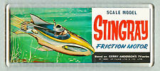 STINGRAY toy box art WIDE FRIDGE MAGNET - CLASSIC TOY MEMORIES!