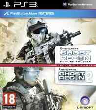 PS3-Tom Clancy`s Ghost Recon Future Soldier & Advanced Warfighter 2 (Do GAME NEW