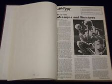 1984-1987 JUMP CUT REVIEW OF CONTEMPORARY CINEMA NEWSPAPER VOLUME - KD 520