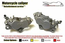 Kawasaki ZXR 750 H1 89 Tokico front brake calipers refurbishment service 1989