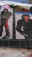 "MICHAEL JACKSON BAD LP ATTIRE EXCITING PROMO 1987 ORIGINAL POSTER 23X29"" RARE"