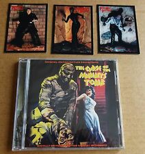 """""""CURSE OF THE MUMMY'S TOMB"""" HAMMER CD SOUNDTRACK + 3 FREE PROMO TRADING CARDS"""