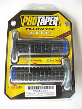 Pro Taper Pillow Top Lite Black / Blue Twist Throttle Grips YZ YZF WR TC TE FE