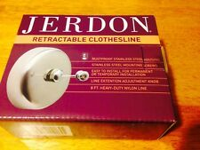 Jerdon 404 Stainless Steel Retractable Clothesline #CL-1 NEW Free Ship