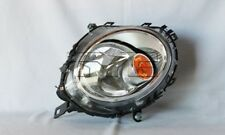 Right Side Headlight Assembly (w/ Amber Reflector) For 2007-2013 Mini Cooper