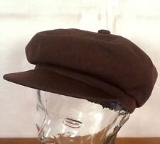 euc Kangol brown Classic 8 Quarter Tropic Spitfire Hat Cap hip hop rapper