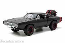 "JADA DOM'S 1970 DODGE CHARGER R/T OFF ROAD ""FAST & FURIOUS 7 "" 1/24 CAR 97038"