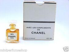 Mini perfume Chanel Nº 5 parfum 1,5 ml. 0.05 fl. oz. Vintage