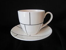 Lenox Kate Spade - GRAMERCY PARK - MADISON SQUARE - Cup & Saucer BRAND NEW