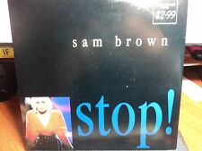 "Sam Brown ""Stop"" Smash Hit 80s Oz PS 7"""