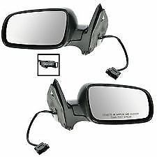VW GOLF AND BORA 1997-2005 ELECTRIC HEATED DOOR WING MIRROR 1 X PAIR RIGHT LEFT