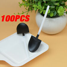 100x Disposable Shovel Spade Ice Cream Cake Scoops Dessert Spoons Party Potting