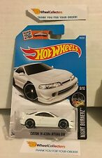 Custom '01 Acura integra GSR #89  * WHITE * NEW * 2016 Hot Wheels * N101