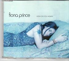 (EX999) Fiona Prince, High On You Again - 2000 DJ CD