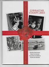 Gibraltar Year Pack YearPack 2003 Mint Never Hinged MNH Sealed