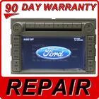 FORD LINCOLN MERCURY Navigation GPS Radio REPAIR ONLY Fix Service 06 07 08 09 10
