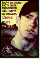 EMINEM ART PHOTO POSTER 2 GIFT QUOTE MARSHALL MATHERS